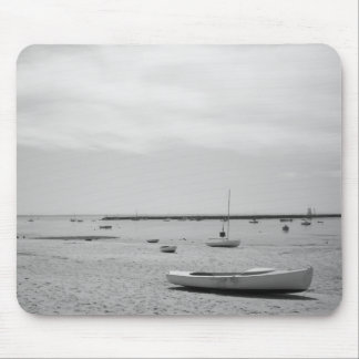 Sail Boat On Provincetown Beach Mouse Pad