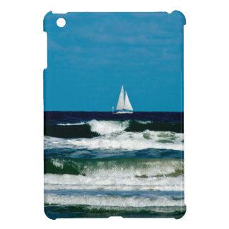 Sail Boat on the Ocean iPad Mini Cases
