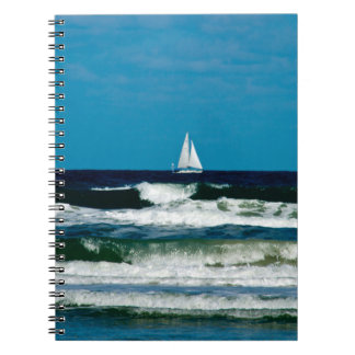Sail Boat on the Ocean Notebook