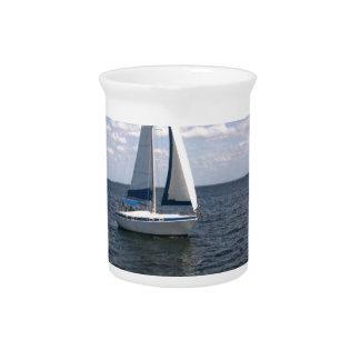 Sail Boat Pitcher