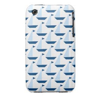 Sail Boat Print Case Case-Mate iPhone 3 Case
