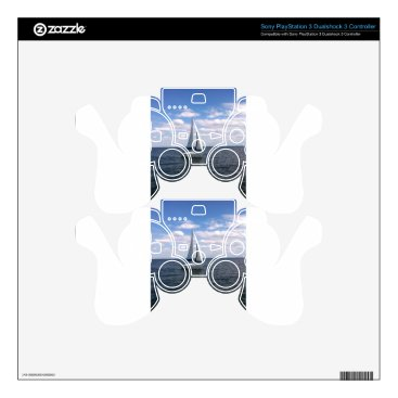 Beach Themed Sail Boat PS3 Controller Skins