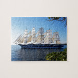 "Sail boat schooner sailboat jigsaw puzzle<br><div class=""desc"">This stunning image of a schooner heading out to sea will be perfect for anyone who loves sailing or the sea.</div>"
