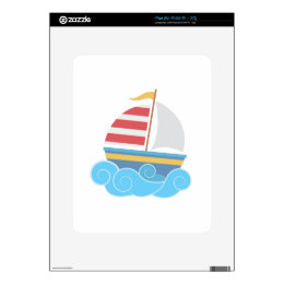 Sail Boat Skins For The iPad