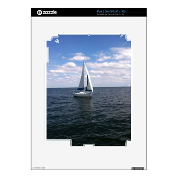 Beach Themed Sail Boat Skins For The iPad 2