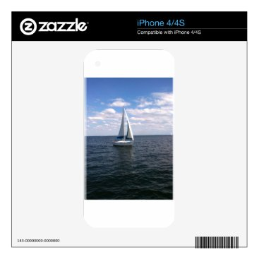 Beach Themed Sail Boat Skins For The iPhone 4