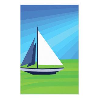 Sail Boat Stationery