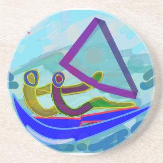 Sail Boat Water Sports Coaster