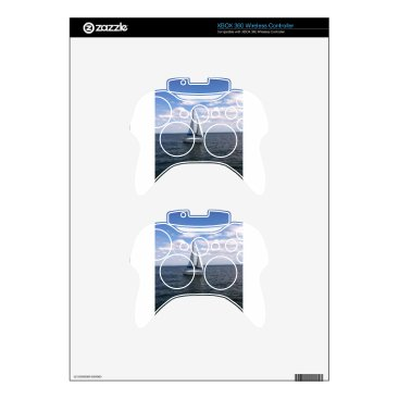 Beach Themed Sail Boat Xbox 360 Controller Decal