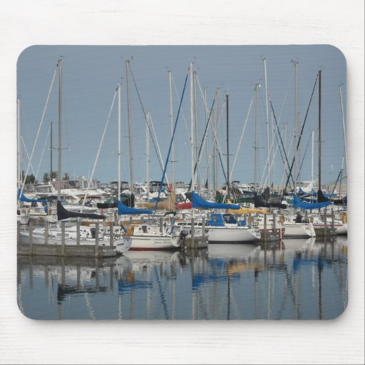 Sail Boat.Yachts Mouse Pads