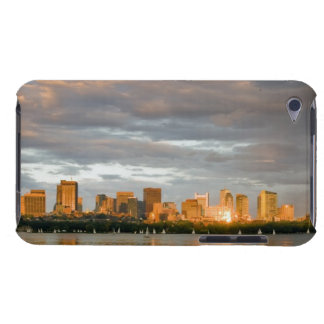 Sail boating on The Charles River at sunset Barely There iPod Cover