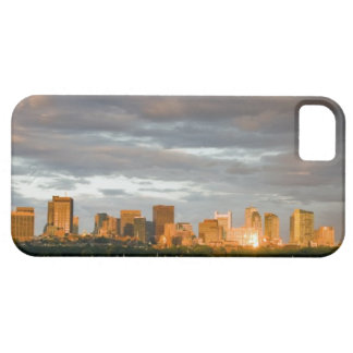 Sail boating on The Charles River at sunset iPhone 5 Covers