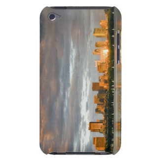 Sail boating on The Charles River at sunset iPod Case-Mate Cases