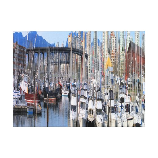 Sail Boats Gallery Wrap Canvas