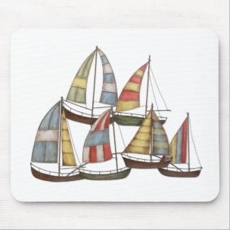 Sail Boats Mouse Pad