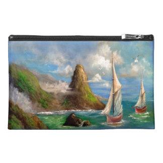 Sail Boats Travel Accessory Bag Travel Accessory Bag