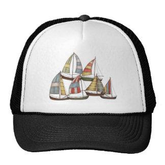 Sail Boats Trucker Hat