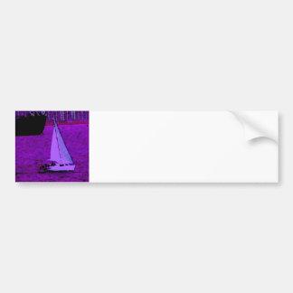 """Sail""  CricketDiane Ocean Art Bumper Sticker"