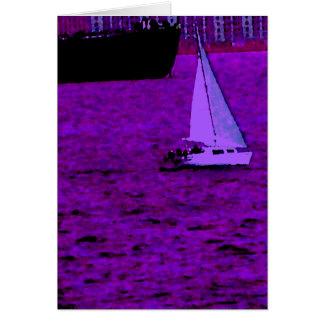 """""""Sail""""  CricketDiane Ocean Art Card"""
