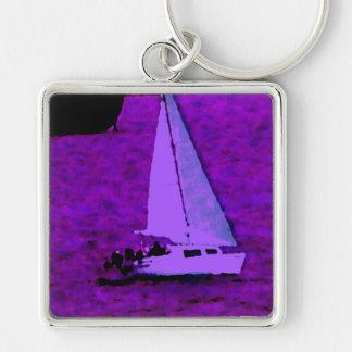 """""""Sail""""  CricketDiane Ocean Art Keychain"""