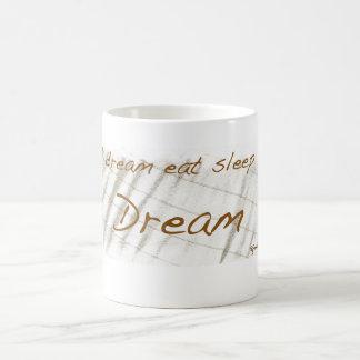 Sail dream eat sleep sail dream coffee mug