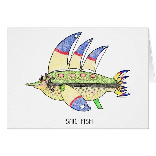 Sail Fish Card