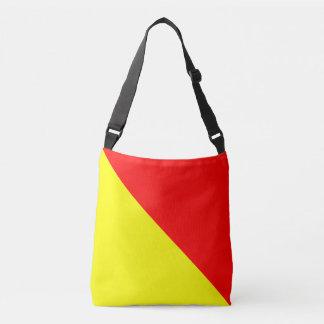 Sail Flag Letter O Oscar Nautical Patterns Crossbody Bag