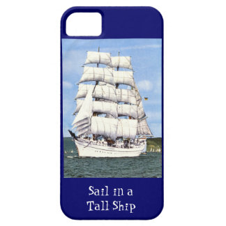 Sail in a tall ship iPhone SE/5/5s case