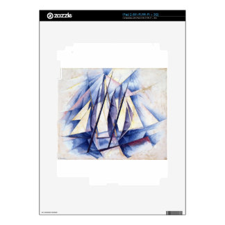 Sail: In Two Movements by Charles Demuth iPad 2 Decals