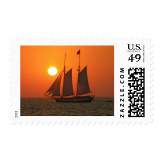 Sail into the Sunset Postage