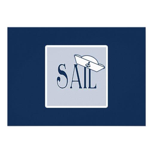 Sail Custom Invitations