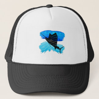 SAIL IS UP TRUCKER HAT