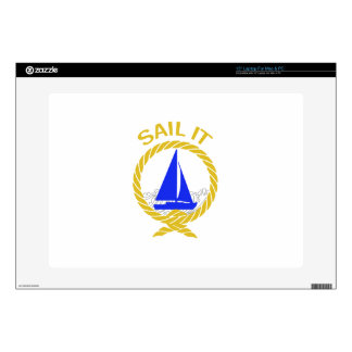 Sail It Laptop Decals