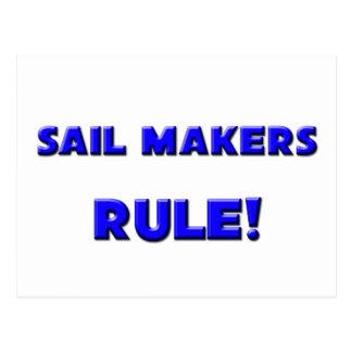 Sail Makers Rule! Postcard