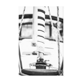 Sail Mast On Canvas