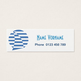 sail mini business card