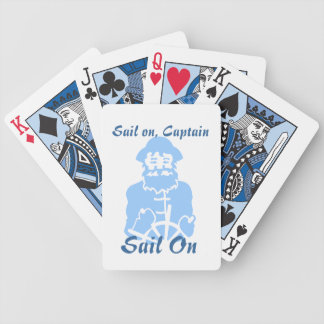 Sail on bicycle playing cards