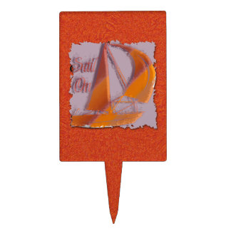 SAIL ON CAKE TOPPER