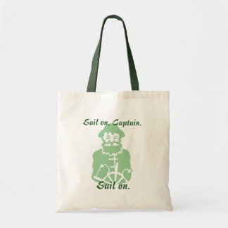 Sail On in Greens Tote Bag