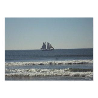 Sail On The Seas 5x7 Paper Invitation Card