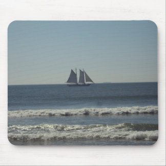 Sail on the Seas Mouse Pad