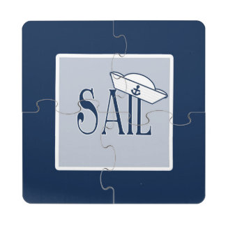 Sail Puzzle Coaster
