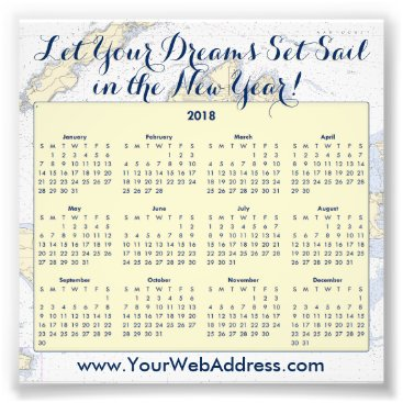 Professional Business Sail Quote • Martha's Vineyard Nautical Calendar Photo Print