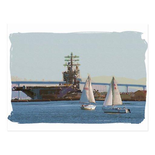 Sail San Diego Post Card
