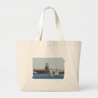 Sail San Diego Tote Bag
