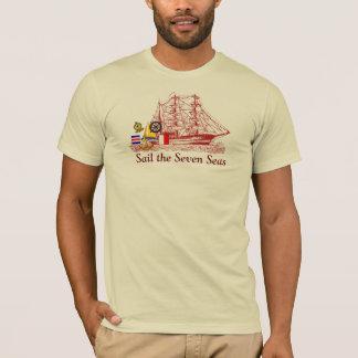 Sail Seven Seas - T-shirt