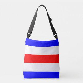 Sail Sign Flag Letter C Charlie Marine Pattern Crossbody Bag