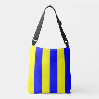 Sail Signal Flag Letter G Golf Nautical Pattern Crossbody Bag