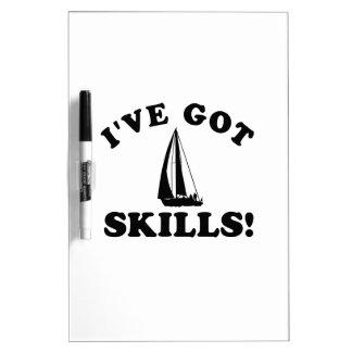 sail skills  Vector Designs Dry-Erase Whiteboard