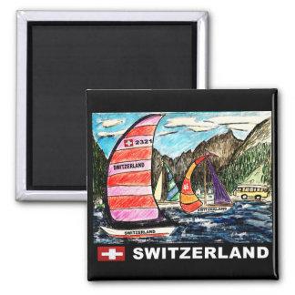 Sail Swiss Magnet